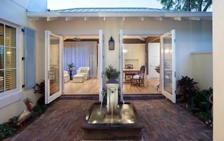 欧式风格家具三层别墅大气阁楼露台设计图纸
