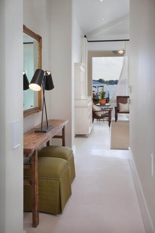 欧式风格卧室三层半别墅大气客厅过道装修效果图