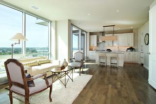 现代简约风格2层别墅大气宜家椅子图片