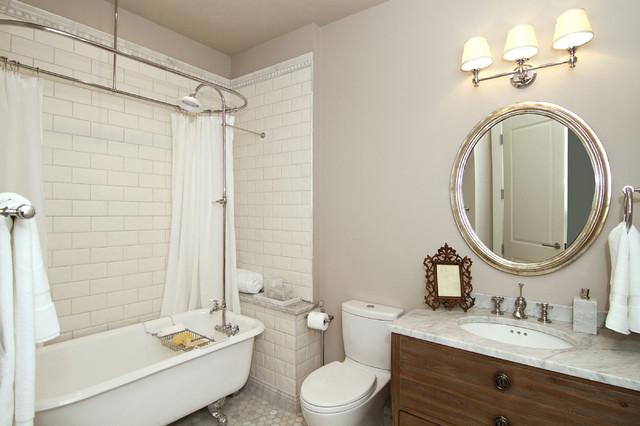 现代简约风格三层别墅及大气3m卫生间装修效果图