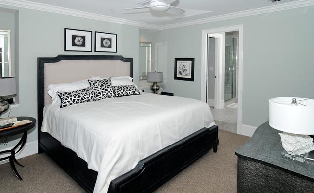 现代简约风格卧室一层别墅及稳重12平米卧室设计