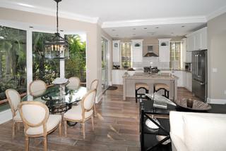 现代简约风格三层平顶别墅稳重宜家椅子图片