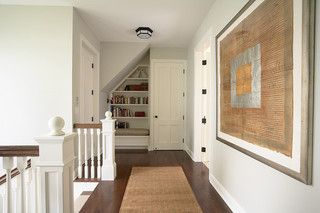 欧式风格卧室2层别墅舒适客厅过道吊顶效果图