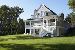 欧式风格客厅2层别墅舒适家装门厅效果图