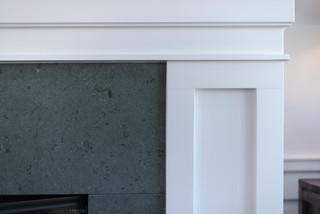 房间欧式风格三层别墅大气橱柜效果图
