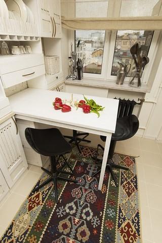 美式风格一层半小别墅舒适吧台椅效果图