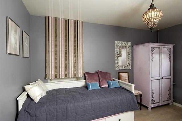 美式风格卧室三层平顶别墅舒适8平米卧室装修