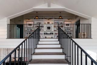 白色欧式风格欧式两层别墅