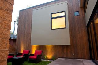 美式风格2013别墅大气露台花园效果图