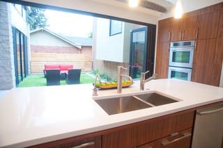 现代美式风格2014年别墅大气2012家装厨房装修效果图