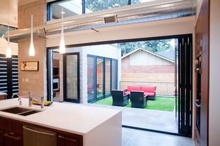 美式风格200平米别墅大气门厅走廊设计图