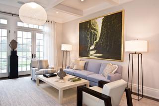 地中海风格室内三层别墅及古典中式2013简约客厅改造
