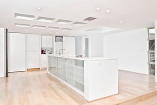 北欧风格卧室一层半别墅现代简洁过道装饰装修效果图