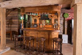 北欧风格3层别墅时尚片客厅酒柜图片