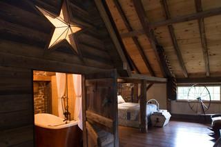 北欧风格3层别墅时尚卧室装饰2014客厅吊顶效果图