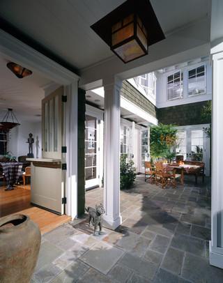 欧式风格家具3层别墅舒适室内装修楼梯设计