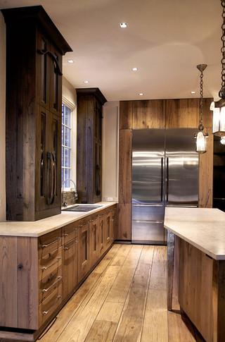 美式风格卧室三层连体别墅大气2013家装厨房装修效果图