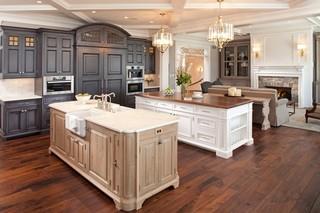 东南亚风格家具2层别墅可爱卧室开放式厨房客厅装修效果图