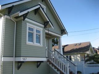 欧式风格家具三层双拼别墅温馨卧室入户门厅装修