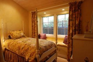 欧式风格卧室loft公寓温馨装饰12平米卧室装修效果图