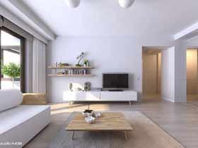 現代簡約公寓