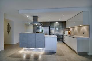 现代简约风格卫生间复式公寓低调奢华2014整体厨房效果图