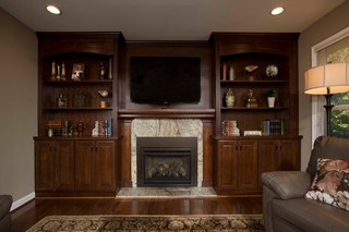 新古典风格客厅复式公寓古典客厅三人沙发图片