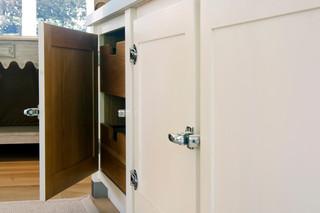 北欧风格公寓唯美厨房推拉门装修效果图