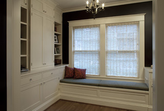 欧式风格精装公寓舒适阳台飘窗效果图