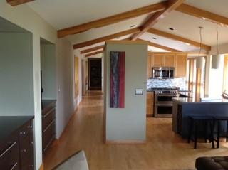 现代简约风格客厅小型公寓时尚家居设计图