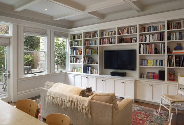 挂在墙上的书架 14款实用书架图片_齐家网装修效果图