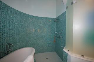 东南亚风格家具单身公寓设计图小清新按摩浴缸图片