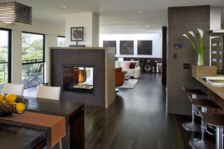 房间欧式风格三层别墅及奢华中式餐厅设计图