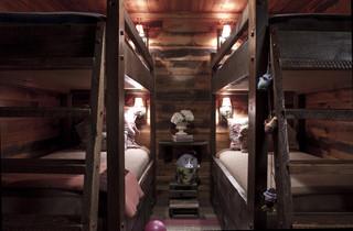 欧式风格家具2013年别墅 新古典儿童房高低床图片