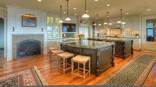 美式风格卧室三层独栋别墅时尚衣柜2013整体厨房设计图
