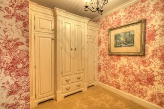 现代美式风格2013年别墅时尚室内主卧室衣柜装修图片