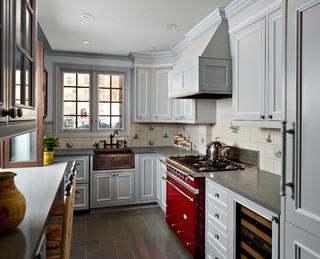 英伦风格复式公寓浪漫卧室 6平方厨房设计图