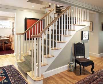 田园风格卫生间复式公寓现代简洁室内楼梯设计图装修图片
