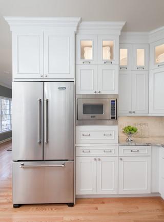 现代简约风格餐厅一层半小别墅现代简洁厨房推拉门效果图