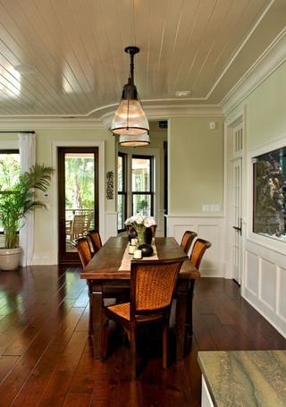 东南亚风格家具复式公寓民族风中式餐桌效果图