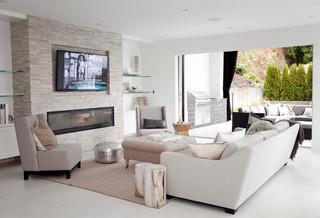 现代简约风格复式公寓浪漫婚房布置2013客厅吊顶装修图片