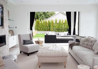 现代简约风格厨房单身公寓厨房浪漫卧室三人沙发图片