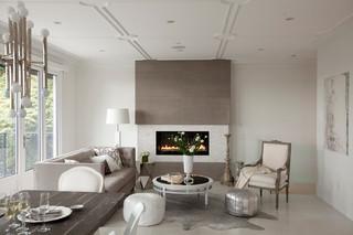 现代简约风格小型公寓浪漫卧室宜家椅子效果图