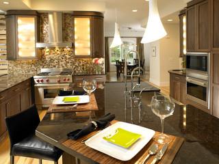 新古典风格2013别墅及 新古典快餐桌图片