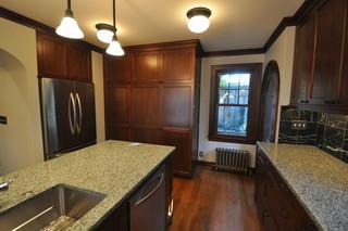新古典风格卧室300平别墅中式古典风格大理石餐桌图片