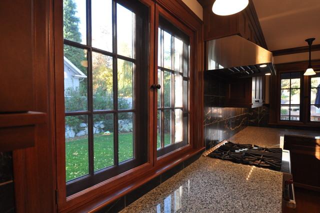 新古典风格客厅三层小别墅中式古典卫生间拉门效果图