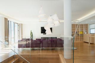 现代简约风格单身公寓设计图大气品牌布艺沙发效果图
