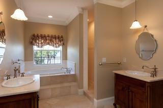 美式风格2014年别墅乐活品牌浴室柜图片