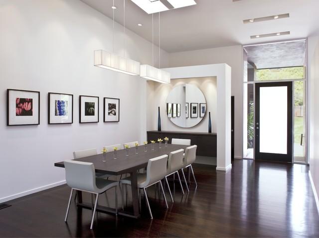 现代简约风格餐厅2层别墅浪漫婚房布置装修效果图
