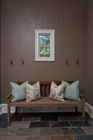 现代简约风格三层别墅温馨卧室布艺沙发及价格效果图